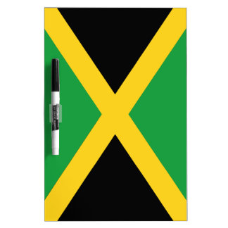 Jamaicaanse vlag whiteboard