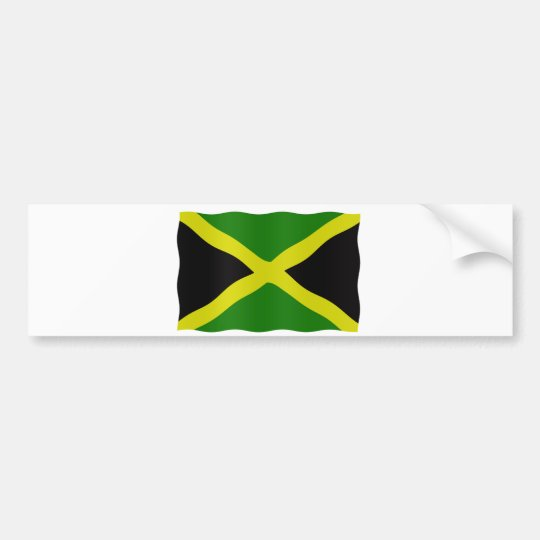 Jamaican flag bumpersticker