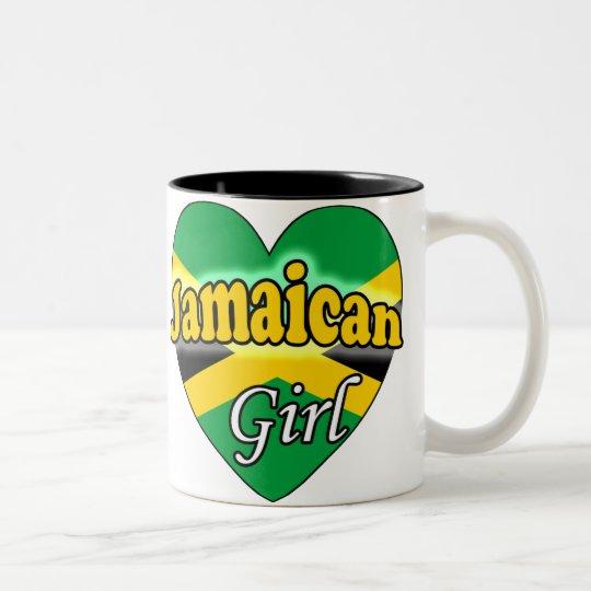 Jamaican Girl Tweekleurige Koffiemok