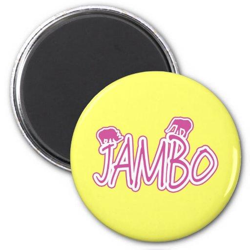 Jambo Swahili Hello Magneten