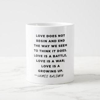 James Baldwin Quote Mug Grote Koffiekop