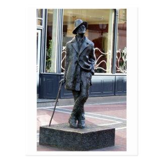 James Joyce, Iers auteursbeeldhouwwerk, de stad Briefkaart