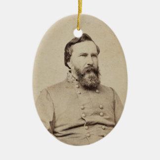 James Longstreet Keramisch Ovaal Ornament