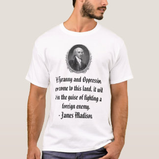 James Madison T Shirt