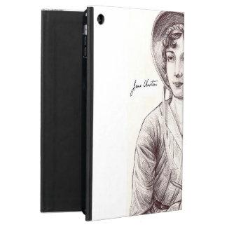 Jane Austin met een Glimlach voor iPad iPad Air Hoesje