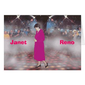 Janet                  Reno Wenskaart