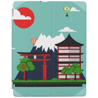 Japan, grafisch kunstontwerp iPad cover