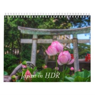 Japan in HDR Kalender