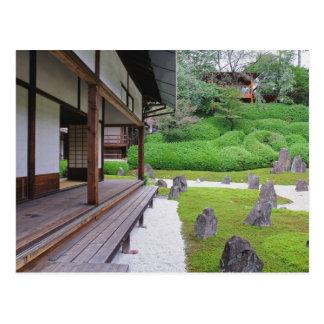 Japan, Kyoto. De tuin van de steen in stilte Briefkaart