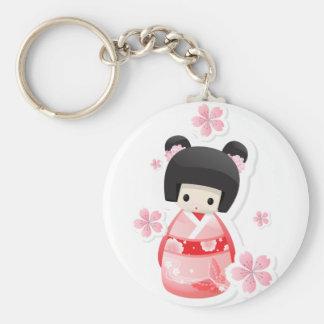 Japans Doll van de Geisha - broodjesreeks Sleutelhanger