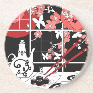 Japanse keuken zandsteen onderzetter