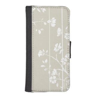 Japanse Stijl Bloemen iPhone 5 Portemonnee Hoesje