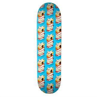 Japanse sushinacht voor de leuke Franse Buldog Skate Deck