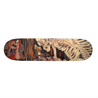 Japanse Ukiyoe Kunst vol.1 18,7 Cm Mini Skateboard Deck
