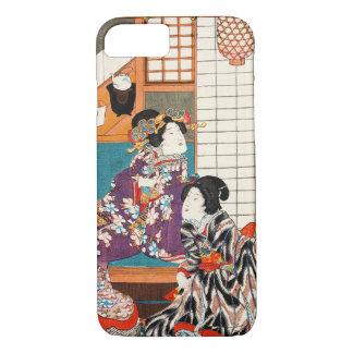 Japanse vintage de damevrouw Maiko van de iPhone 8/7 Hoesje
