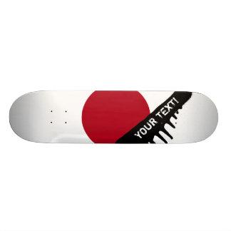 Japanse Vlag Skateboard Deck