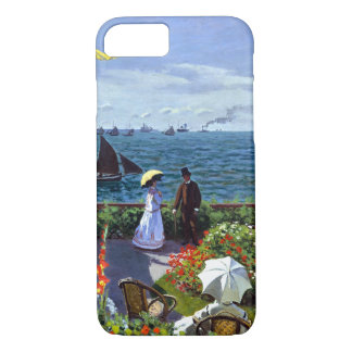 Jardin à sainte-Adresse door Claude Monet iPhone 8/7 Hoesje