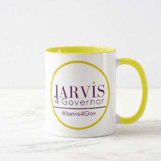 Jarvis 4 de 2-toon van de Gouverneur Mok