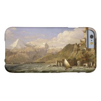 Jaspis Francis Cropsey - de Kust van Genua Barely There iPhone 6 Hoesje