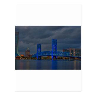 jax blauwe brug HDR Briefkaart