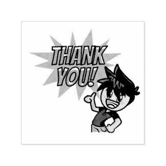 """Jaxon dankt u 1.5 de Zegel van"""" x 1.5"""" Zelfinktende Stempel"""