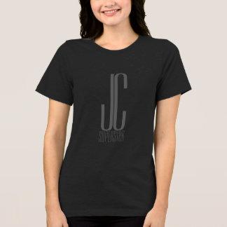 JC superster - in zwarte ontspan pasvorm T Shirt