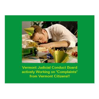 JCB van Vermont: Briefkaart