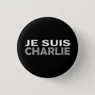 Je Suis Charlie Ronde Button 3,2 Cm