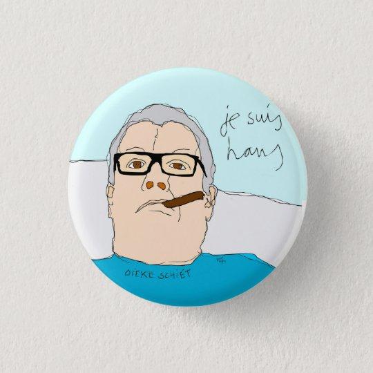 je suis hans ronde button 3,2 cm