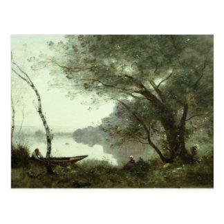 Jean-Baptiste-Camille Corot - Boatman Briefkaart