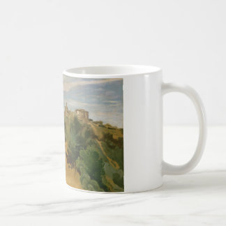 Jean-Baptiste-Camille Corot - Genzano Koffiemok