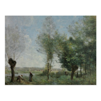 Jean-Baptiste-Camille Corot - Herinnering van Briefkaart