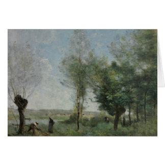 Jean-Baptiste-Camille Corot - Herinnering van Briefkaarten 0