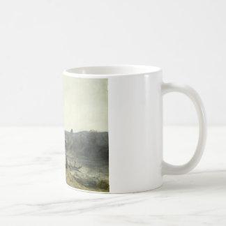 Jean-Baptiste-Camille Corot - het Vertrek Koffiemok