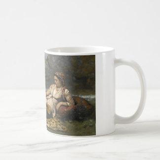 Jean-Baptiste-Camille Corot - Jonge Vrouwen van Koffiemok