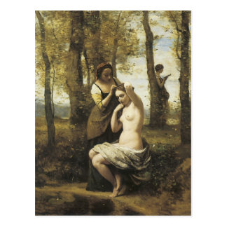 Jean-Baptiste-Camille Corot Toilette Briefkaart