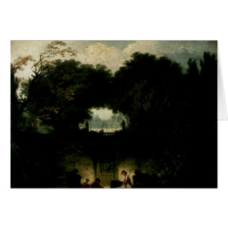 Jean-Honore Fragonard- het Kleine Park Briefkaarten 0