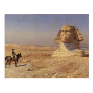 Jean-Leon Gerome- Bonaparte vóór de Sfinx Briefkaart