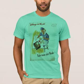 Jenny op de Wereldoorlog II van de Baan T Shirt