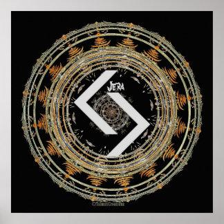 ☼JERA - Rune van Tijd ☼ Poster