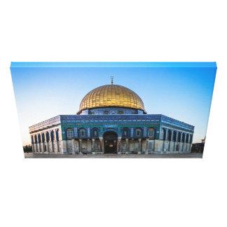 Jeruzalem - Koepel van de Rots Canvas Afdruk