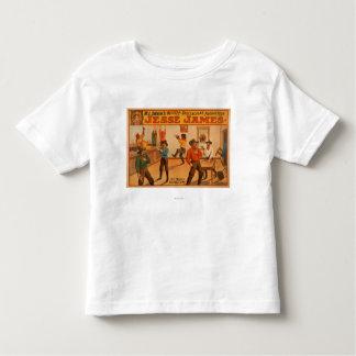 Jesse James Western Spectacular Production Kinder Shirts