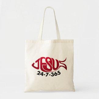 Jesus24-7-365 Budget Draagtas