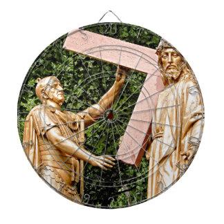 Jesus Carries Cross Dartbord
