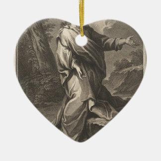 Jesus-Christus Keramisch Hart Ornament