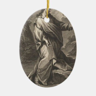 Jesus-Christus Keramisch Ovaal Ornament