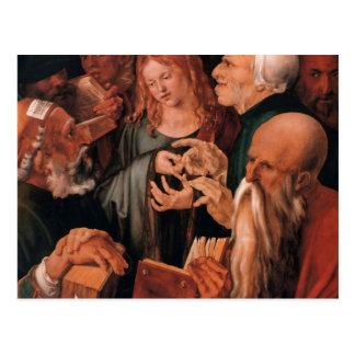 Jesus-Christus onder de Artsen Briefkaart