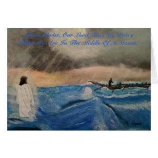 Jesus-Christus, Onze Lord Gives Us Vrede Briefkaarten 0
