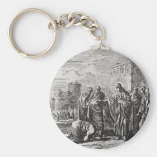 Jesus Confronts 12 Apostelen Sleutelhanger