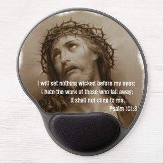 Jesus Crowned met Doornen Mousepad Gel Muismat